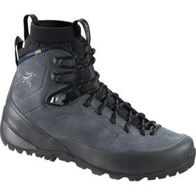 Arc'teryx M's Bora2 Mid Leather Hiking Boots Grey Denim/Black